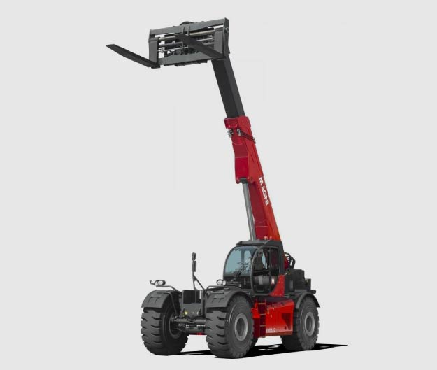 MAGNI offre une gamme de chariots télescopiques de grosse capacité
