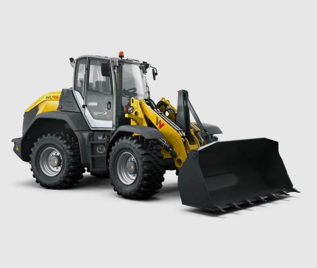 Chargeuse sur pneus WACKER NEUSON pour tous types de chantiers